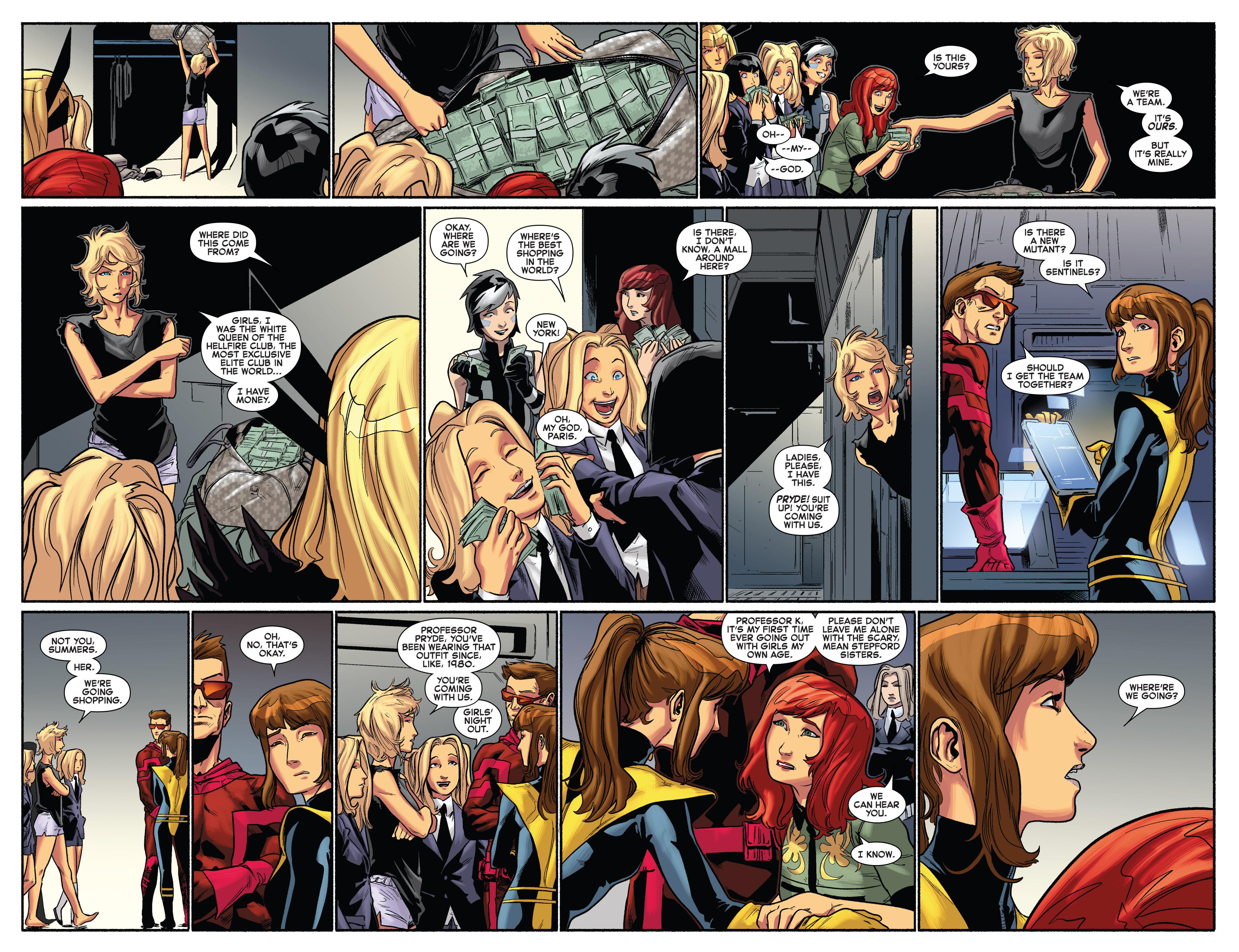 Read online Uncanny X-Men (2013) comic -  Issue #15 - 8
