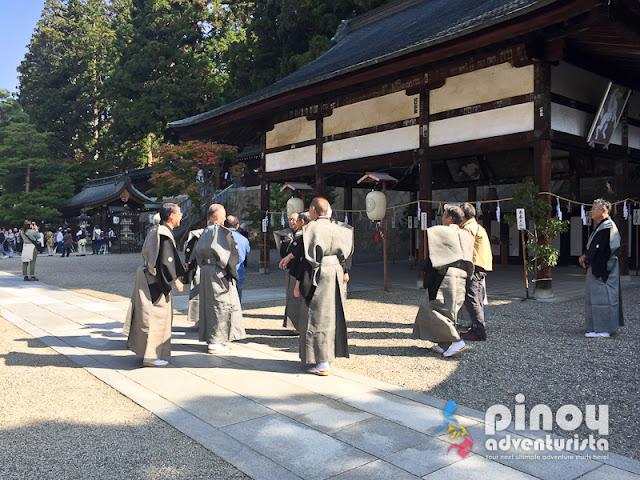 Takayama Festival in Gifu Japan