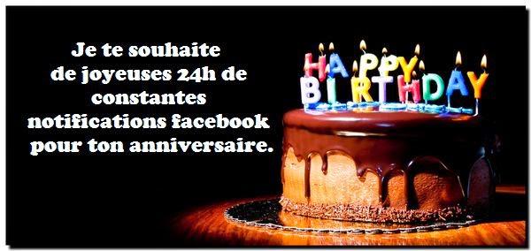 Messages anniversaire humoristique