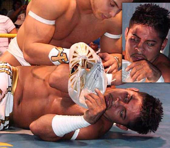Wrestling News Ita Sin Cara Senza Maschera Foto