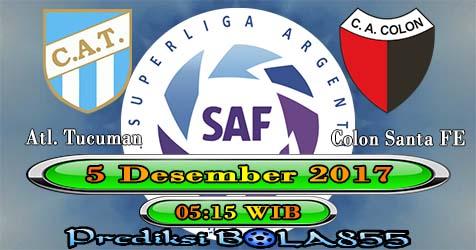 Prediksi Bola855 Atletico Tucuman vs Colon de Santa Fe 5 Desember 2017