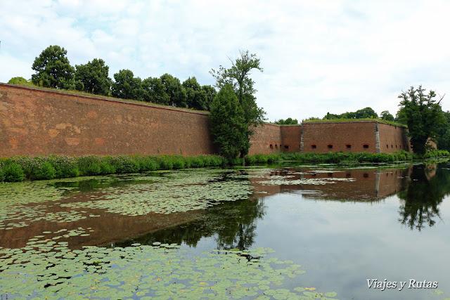 Muros y foso de la Ciudadela de Spandau