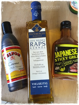 Teutoburger Mühle – Raps Kernöl, Melfor Creme und Japanese Sticky Grill Sauce