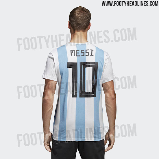 quality design 5bdb4 58694 Special Adidas Argentina Messi 2018 World Cup Shirt Leaked ...