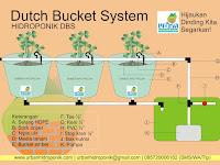 Teknik Mudah Instalasi Hidroponik Dutch Bucket System