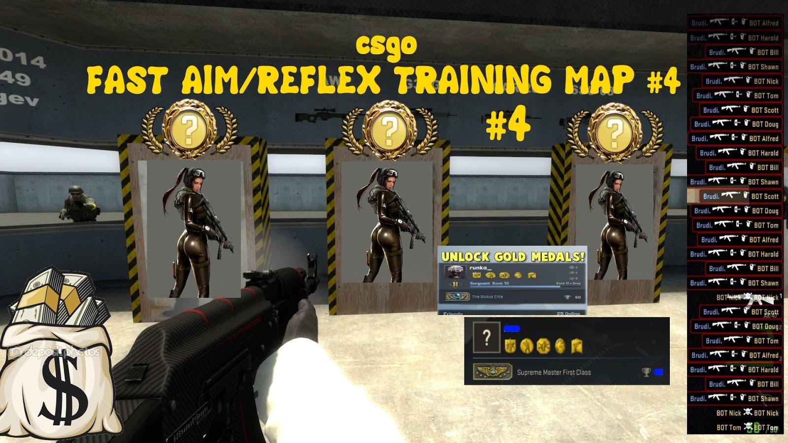 cs go aimbot training map