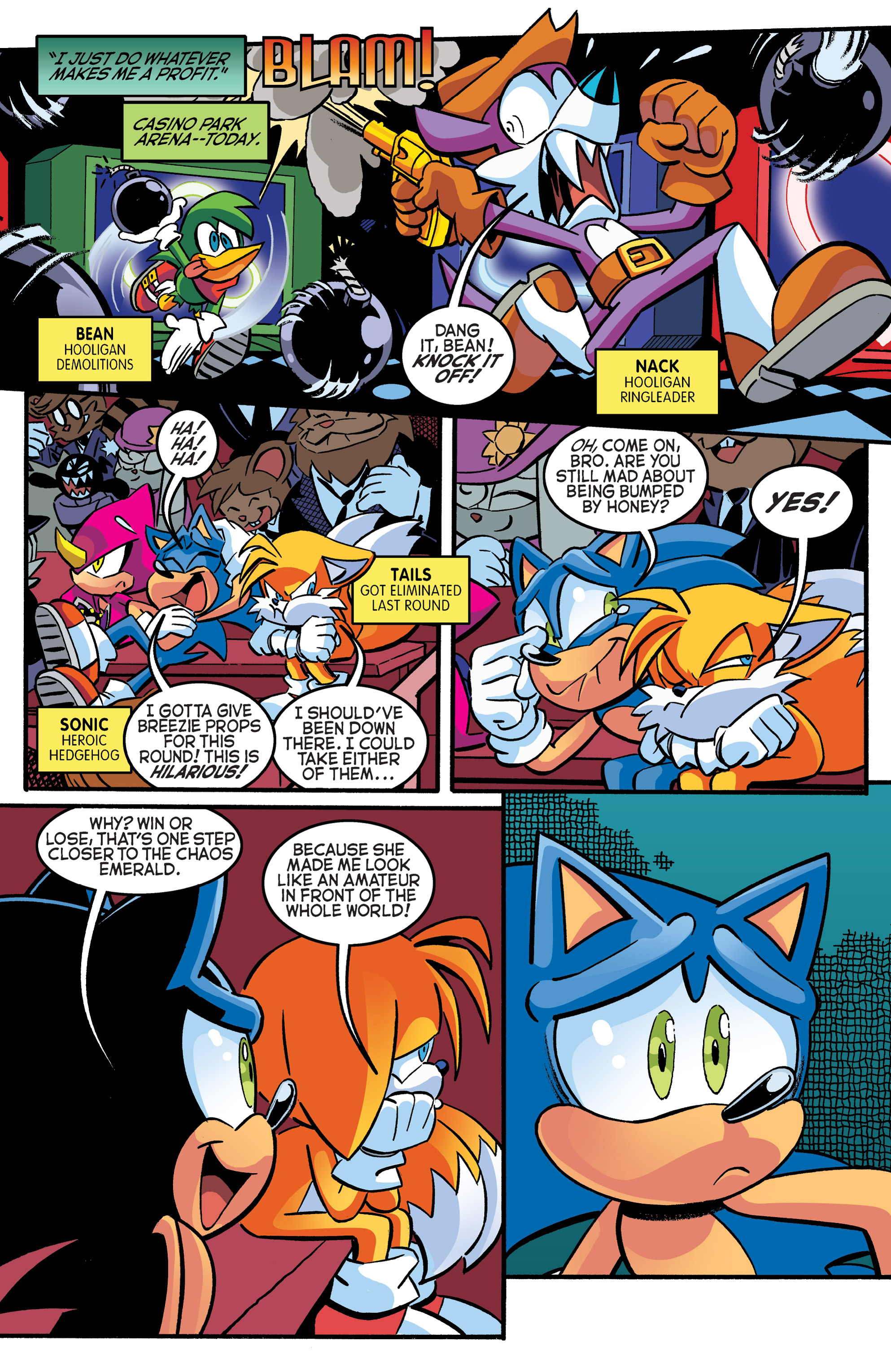 Read online Sonic The Hedgehog comic -  Issue #270 - 5