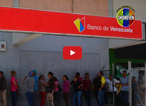 Siguen los problemas de la plataforma del banco de for Oficina del banco de venezuela
