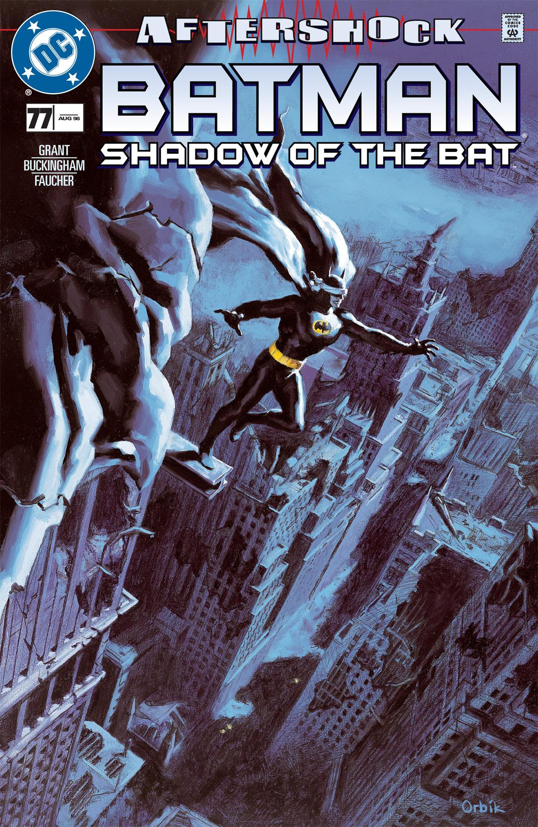 Batman: Shadow of the Bat 77 Page 1