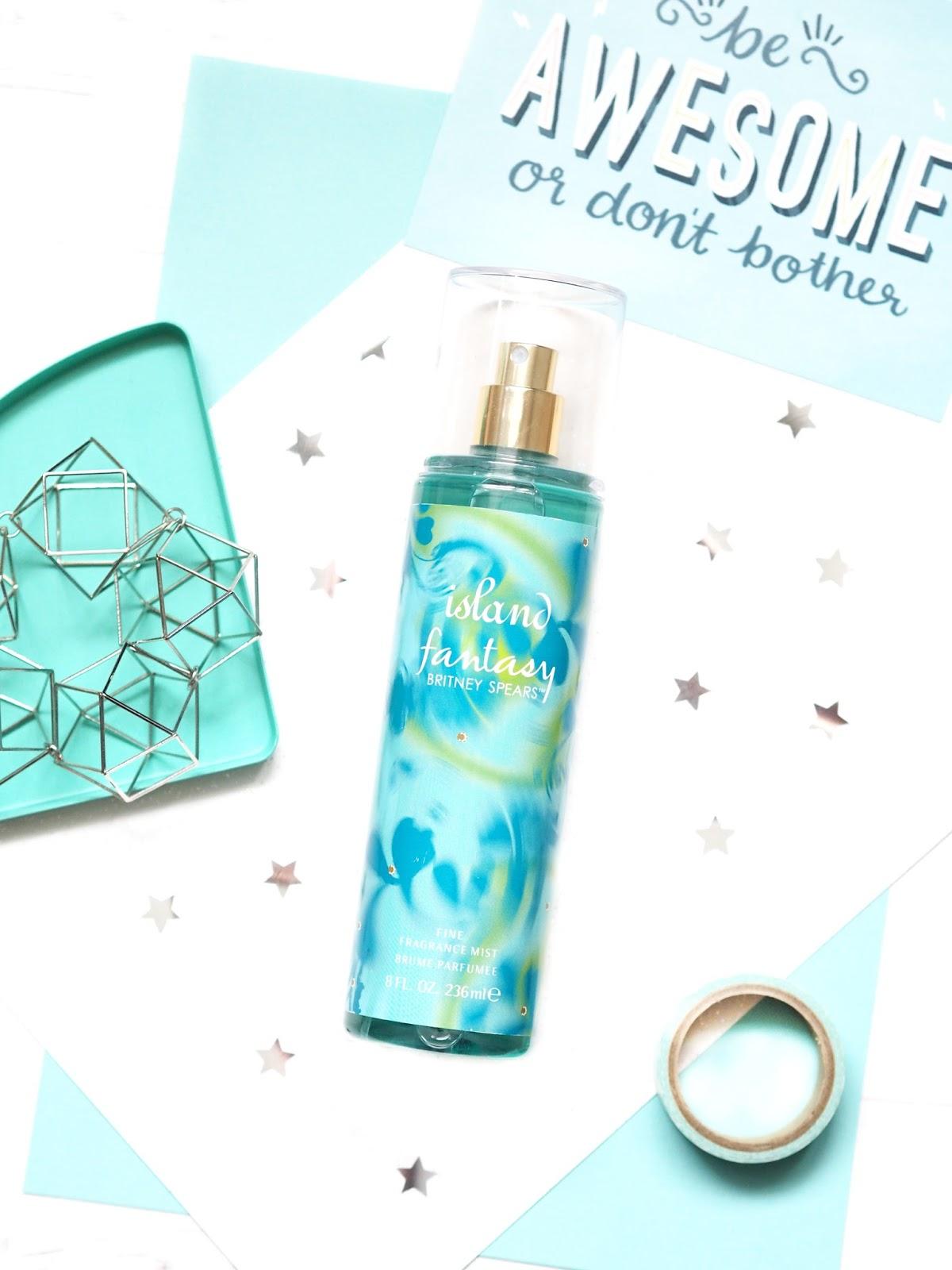 Britney Spears Island Fantasy Fragrance Mist Review
