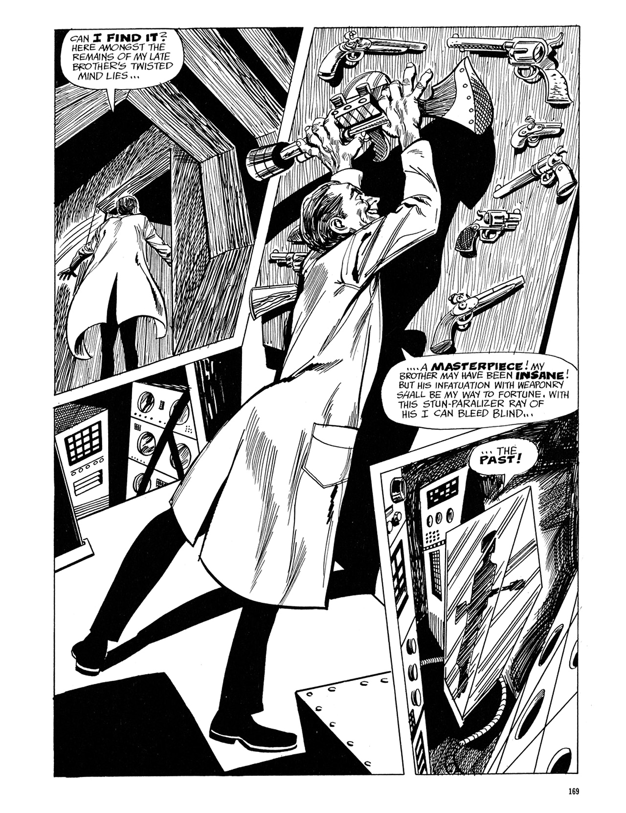 Read online Eerie Archives comic -  Issue # TPB 5 - 170