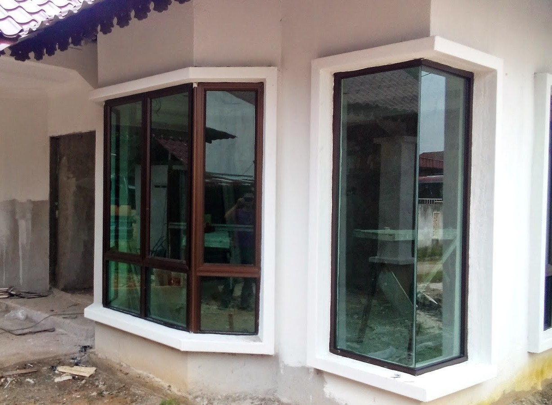 Kami Berpengalaman Luas Dalam Kerja Pemasangan Tingkap Aluminium Kabinet Kaca Tempered Untuk Rumah Dan Bangunan