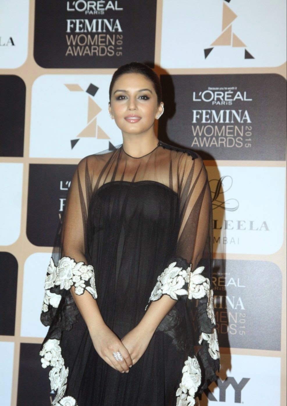 Huma Qureshi Hot Photoshoot Stills In Black Dress