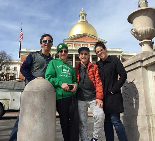Freedom Trail in Boston