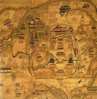 極楽寺境内絵図