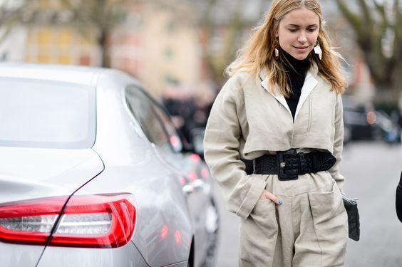 Elle UK LFW Street Style - Pernille Teisbaek