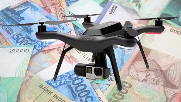 4 Cara menghasilkan Uang dari hobi bermain drone - Liu Purnomo