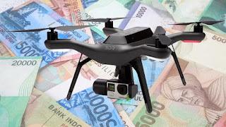 4 Cara menghasilkan Uang dari hobi bermain drone