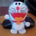 Boneka Doraemon Dari Kain Flanel