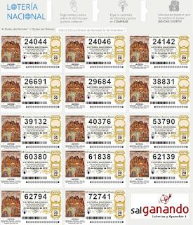 numeros navidad loteria 2016