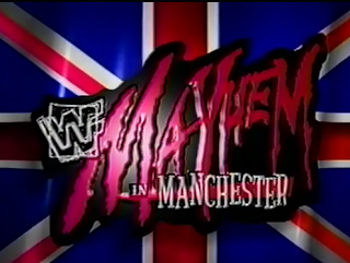WWE / WWF Mayhem in Manchester 1998 - Event logo