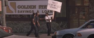 protesto, desempregado, emprestimo, policia, banco
