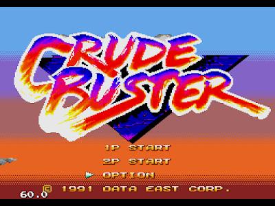 【MD】暴力剋星(Crude.Buster)原版+多命版,知名的動作遊戲!