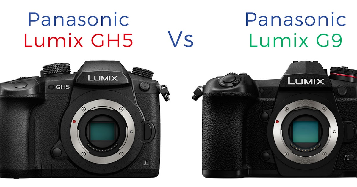 Panasonic Lumix G9 vs Lumix GH5 Review