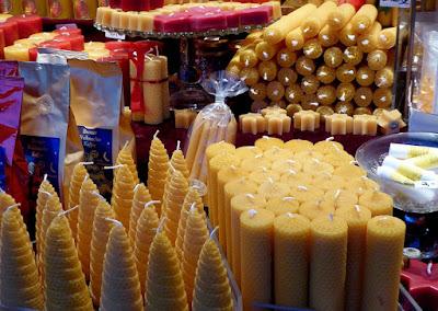stalls at christmas market
