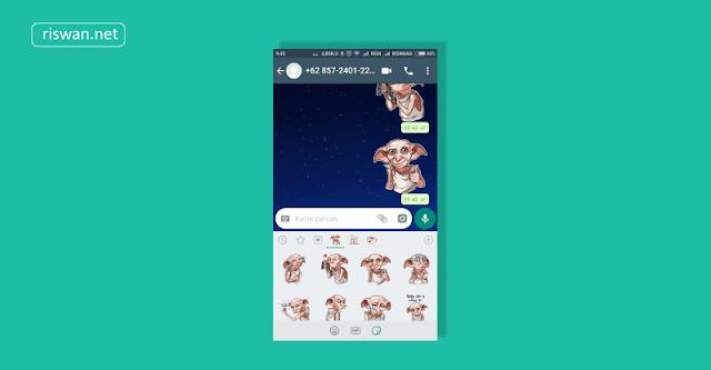 Cara Mengatasi Fitur Stiker Whatsapp Yang Tidak Muncul