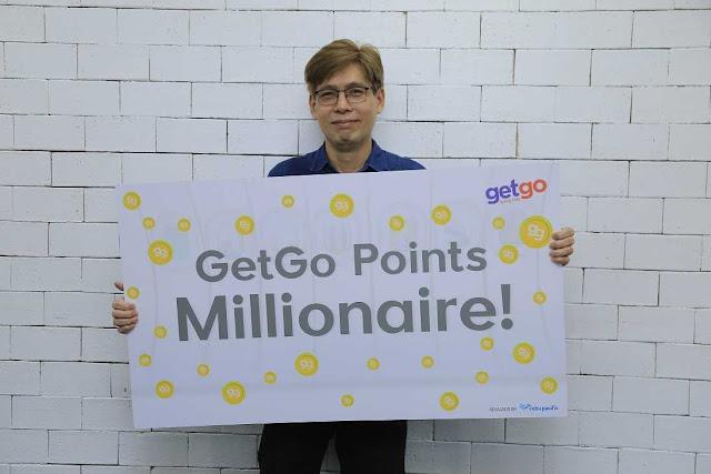 GetGo 1 Million Points Winner