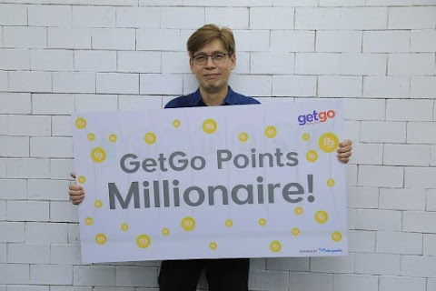 GetGo 1 Million Points Winner Wilfred Dy Gets to Travel for FREE
