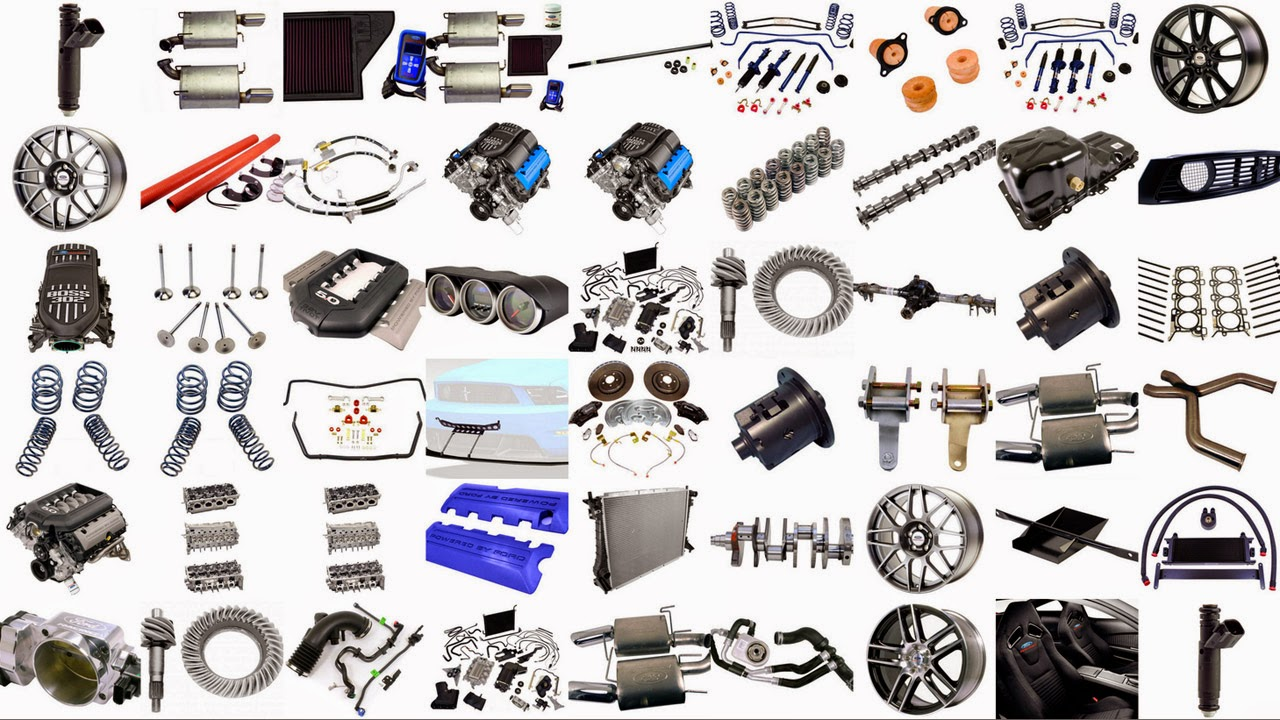 Basic Parts Under The Hood Of A Car