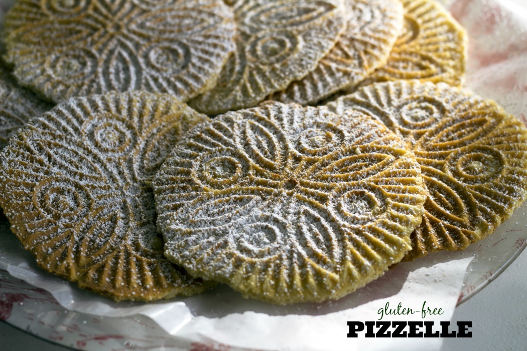 Glute-Free Pizzelle