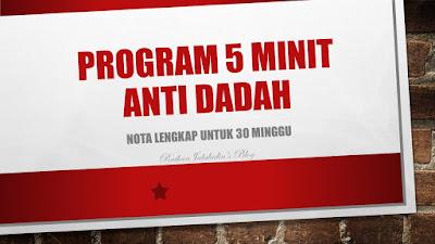 Program 5 Minit Anti Dadah