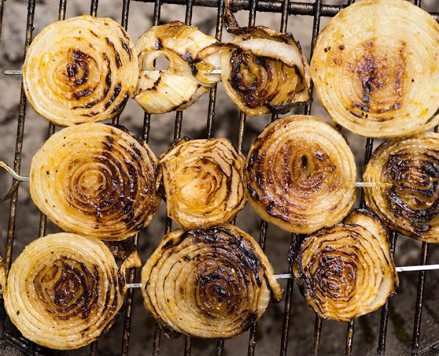 How to Grilled Sweet Onions