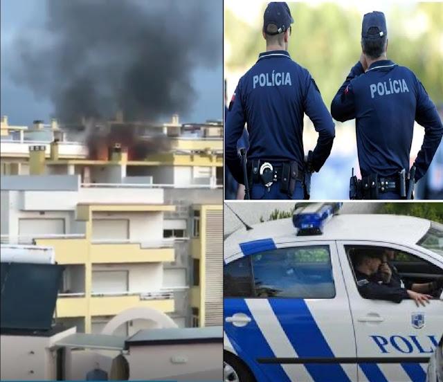 Dois agentes da PSP de Cascais apagam fogo em prédio e salvam 12 famílias FogoRuaTilias4%2B-%2BC%25C3%25B3pia
