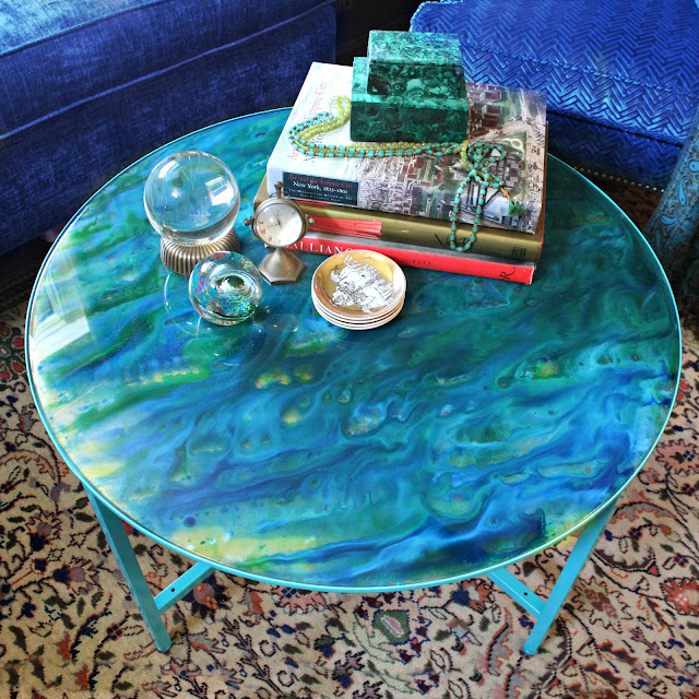 Big Blue Marble Table