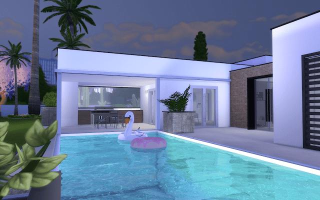 maison de luxe Sims 4