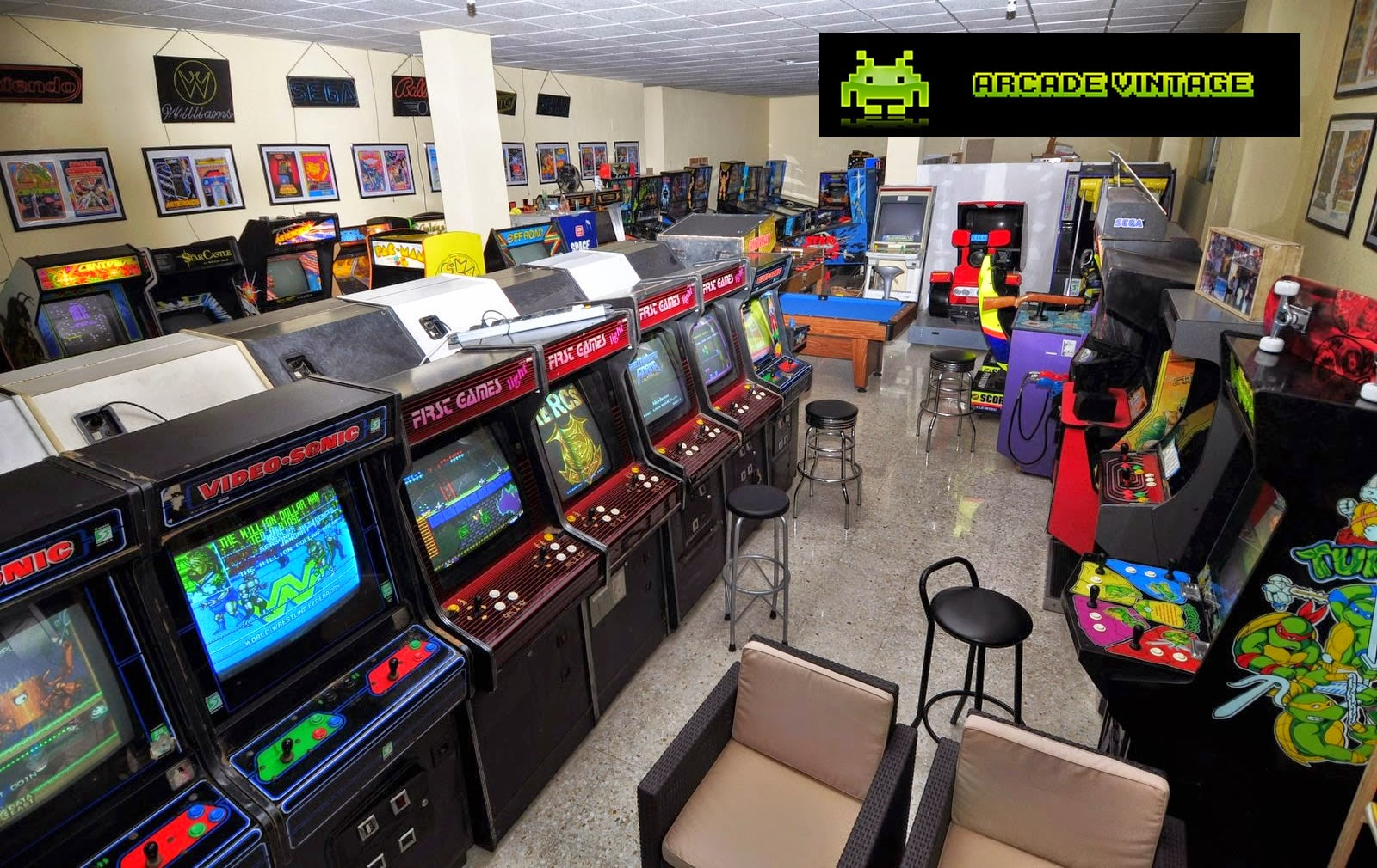 Documental Arcade Vintage