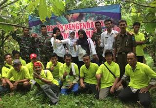 Salah Satu Kegiatan Gerdal PHT Dinas Pertanian Pandeglang