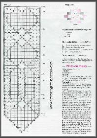 camino de mesa para tejer al crochet patrones