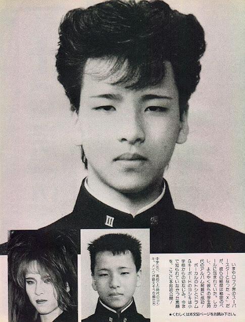 YOSHIKI was thought to be Hanamichi Sakuragi