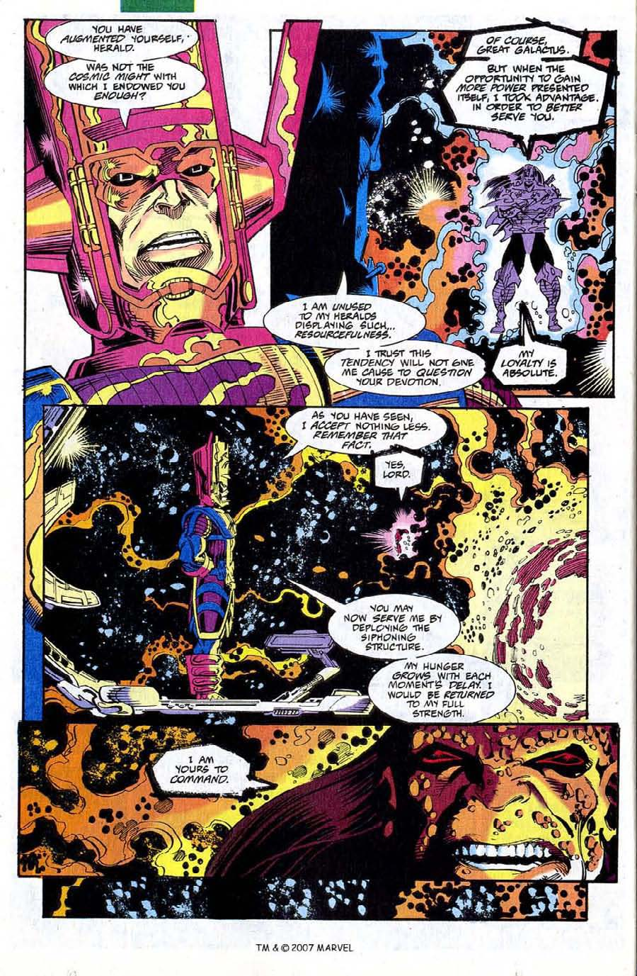 Read online Silver Surfer (1987) comic -  Issue #73 - 26