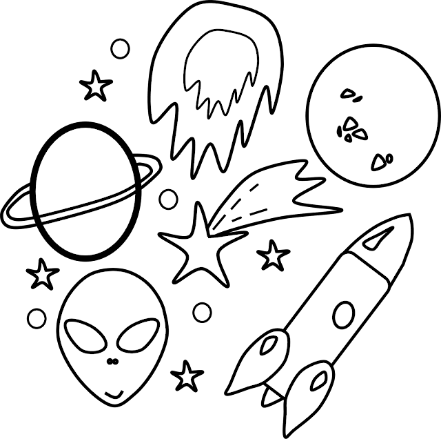 Space Elements Clipart
