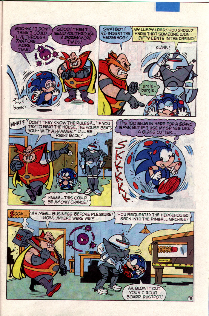 Read online Sonic The Hedgehog comic -  Issue #1 - 23