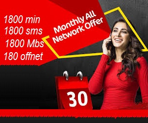 Mobilink Jazz Gold Monthly All Network Offer