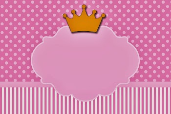 Princesses: Free Printable Cards or Invitations.