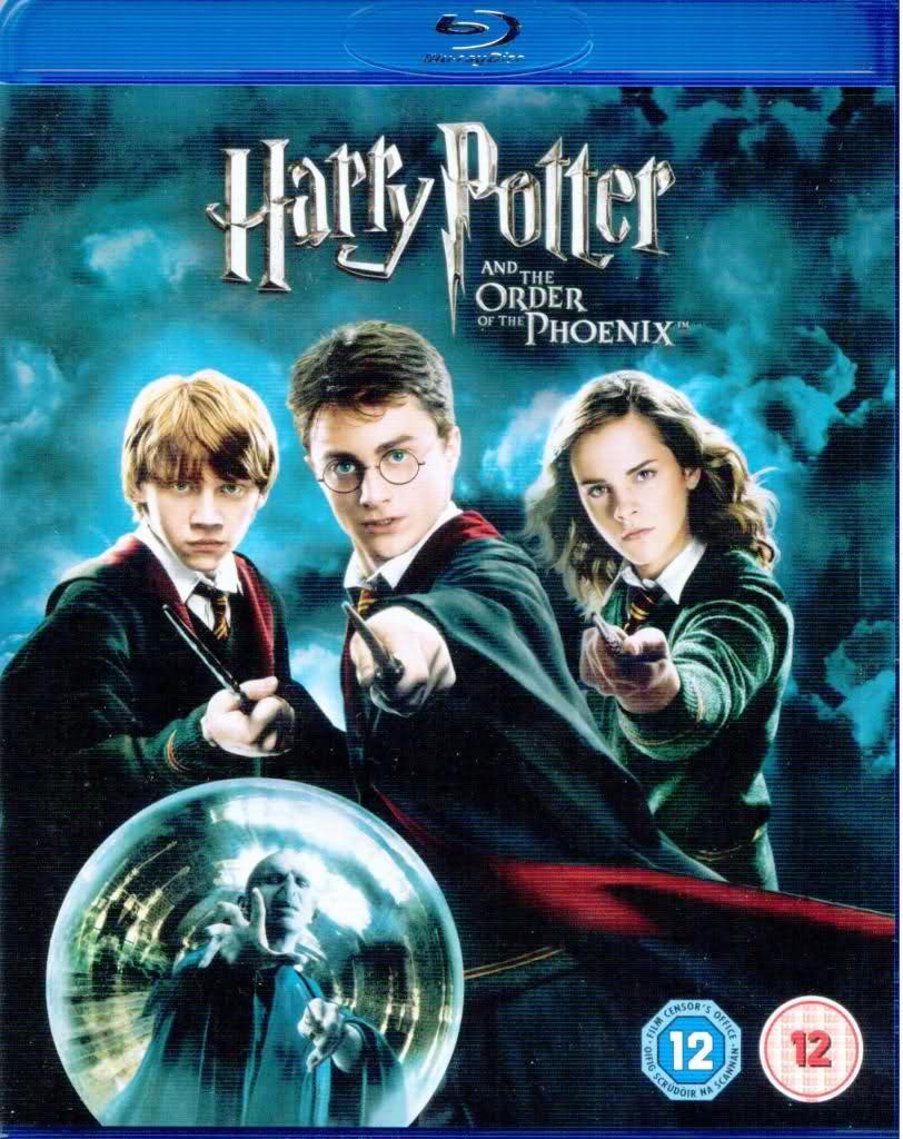 Harry Potter and the Order of the Phoenix 2007 480p 350MB Blu-Ray Hindi Dubbed Dual Audio [Hindi - English] MKV