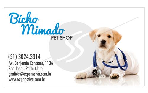 cartao de visita pet shop 5 - Cartões de Visita Pet Shop